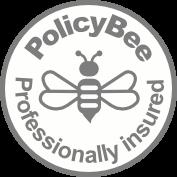White_Grey_PolicyBee_Badge