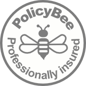 White_Grey_PolicyBee_Badge